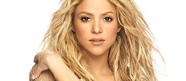 El susto de Shakira!